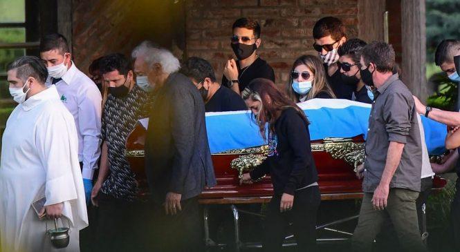 फुटबलका महान हस्ती म्याराडोनाको भावुक विदाई (फोटो फिचर)