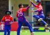 विश्वकप क्रिकेट लिग–२ : नेपाल र अमेरिकाबीच खेल हुँदै
