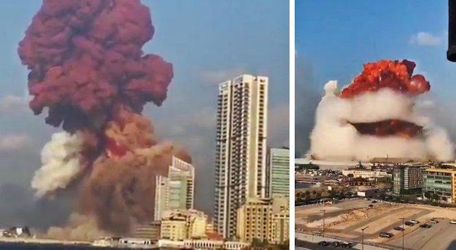 लेबनानमा भएको विस्फोटमा १३५ को मृत्यु, चार हजार भन्दा बढी घाइते