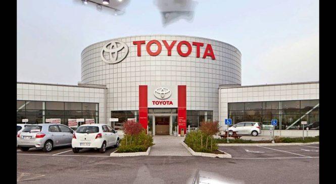 जापानी कार कम्पनी टोयोटाद्वारा चालु वर्षमा ६४.१ प्रतिशत नाफा घट्ने