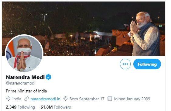 भारतीय प्रधानमन्त्री मोदीको ट्वीटर ह्याक, कोरोना कोषमा सहयोगको अपील