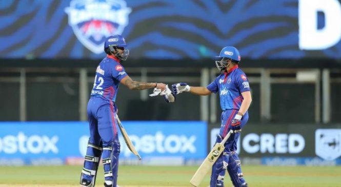 आइपिएल क्रिकेटः दिल्लीले कोलकातालाई ७ विकेटले हरायो