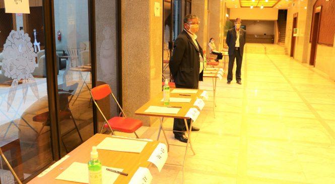 संसदमा मतदानको सम्पूर्ण तयारी पूरा (तस्वीरसहित)