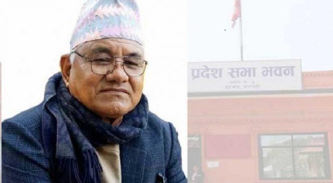 लुम्बिनी प्रदेशसभा सदस्य डाँगीले दिए राजीनामा