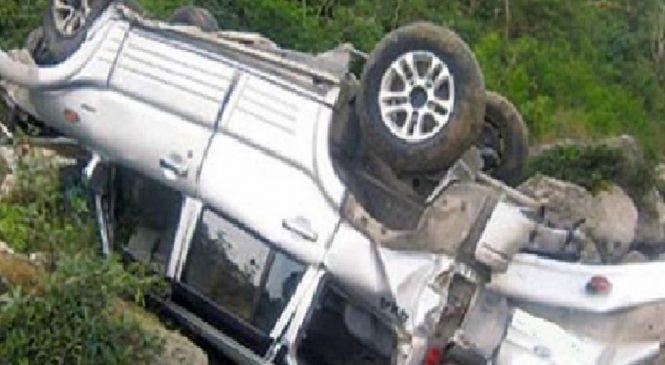 जीप दुर्घटनामा चालकको मृत्यु