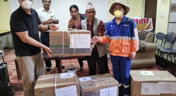 Huaxin Donates Emergency Medical Supplies to Bagmati Province Government