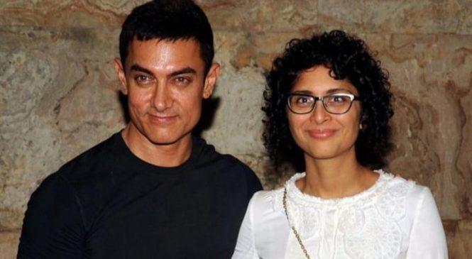 सुपरस्टार अभिनेता आमिर खानको दोश्रो डिभोर्स, पत्नी किरणसँग अलग हुने घोषणा
